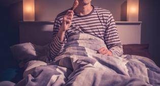הלם: מותר ללכת לישון מיד אחרי ארוחת הערב
