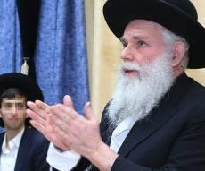 """הרב מרדכי אדר""""ת - ספר תורה לזכר החזו""""א - בזכות הבן שנולד"""