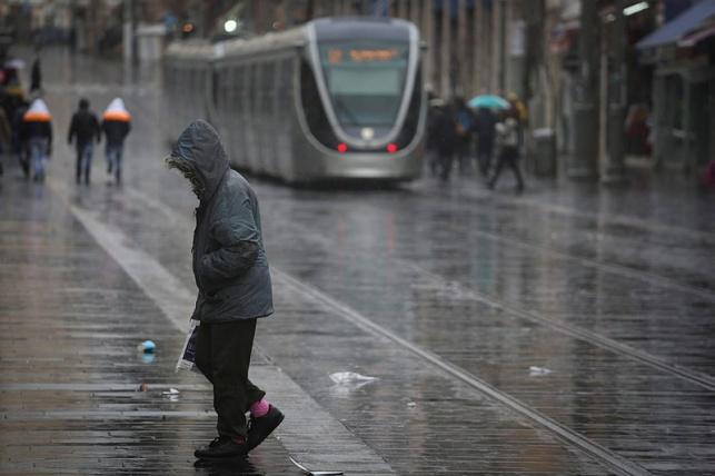התחזית: הגשם חוזר לביקור קצר