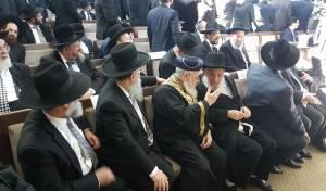בכירי הרבנים בחתונת בת הנגיד יעקב כוכב