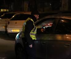למרות הגשם: המשטרה נתנה מאות דוחות