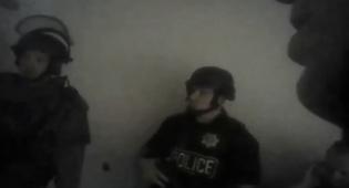 תיעוד דרמטי: כך פרצו השוטרים לחדר היורה