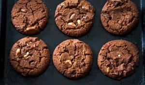 עוגיות טריפל שוקולד עשירות