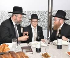 בר מצווה לבנו של העיתונאי אליעזר שולמן • גלריה