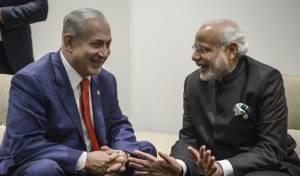 נתניהו עם ראש ממשלת הודו