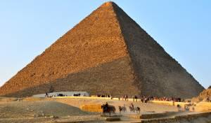 הפרמידה הגדולה של גיזה - חוקרים מצאו חלל בלתי ידוע בתוך הפרמידה