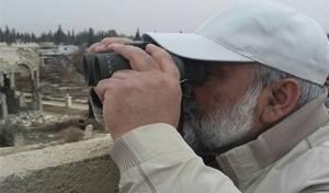 מפקד הבסיג', המיליציה האיראנית, משקיף מהגולן הסורי - הישג לישראל: איראן תורחק מהגבול הסורי