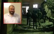 """הרב אטינגר הי""""ד על רקע פעילות צה""""ל"""