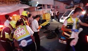 נערה חרדית נפצעה בינוני בתאונת אופניים