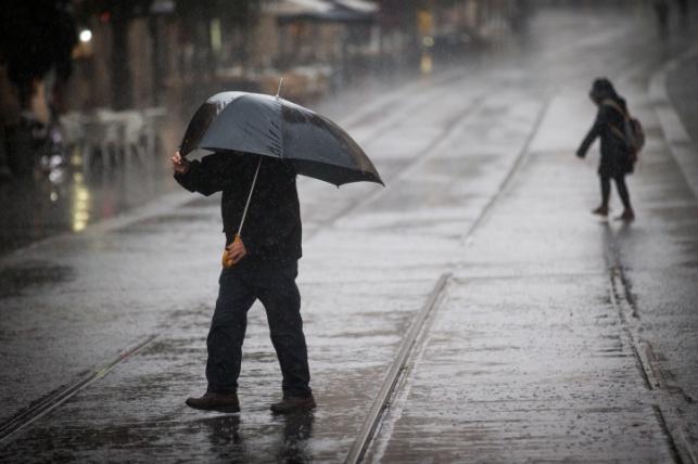 הסערה החלה: גשמים מצפון הארץ עד הנגב