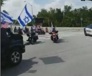 השיירה של מועדון רכבי האופנועים לכבוד... ישראל • צפו