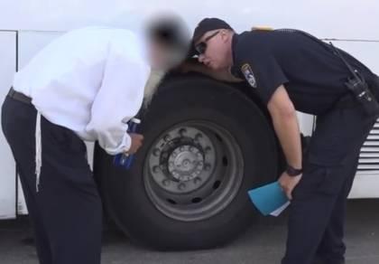 המבצע המשטרתי - הושבתו: רכבי הסעות ילדים נמצאו מסוכנים