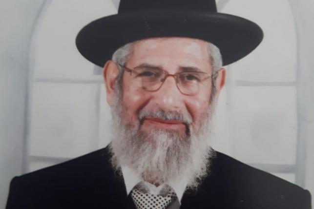 "הגאון רבי ישראל שרעבי זצ""ל"