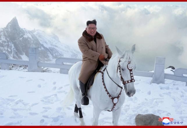 רודן וסוס לבן: תיעוד מדאיג של קים ג'ונג און
