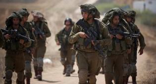 """כוחות צה""""ל בגבול הרצועה"""