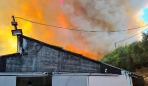 השריפה ביקב המצודה