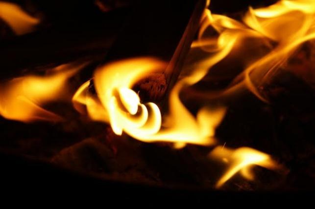 הסתפקה בהדרכה הלכתית ונמצאה אחראית לשריפה
