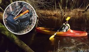 תיעוד: המתנדבים חילצו מהנהר טלית ותפילין