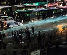עשרות עצורים וסירחון: כך נראתה ההפגנה