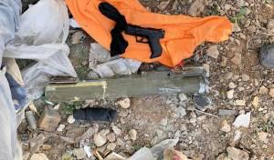 צפו: רקטת לאו אקדח ורימון נתפסו בעיר לוד
