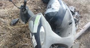 שניים ניסו לגנוב אופנוע ונתפסו עם הגניבה