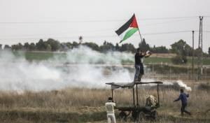 """מחבלים מתגרים בצה""""ל סמוך לגבול עזה, ארכיון - שני חיילים נפצעו באורח קשה ממטען נגדם"""