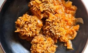 קציצות קיפוד עם אורז ובשר שכולם יאהבו