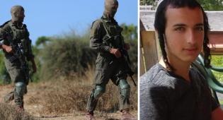 הנרצח על רקע זירת הפיגוע