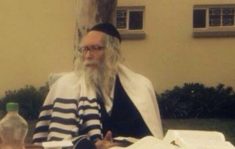 הרב אליעזר ברלנד - הרב ברלנד טופל בבית החולים - ושב לביתו