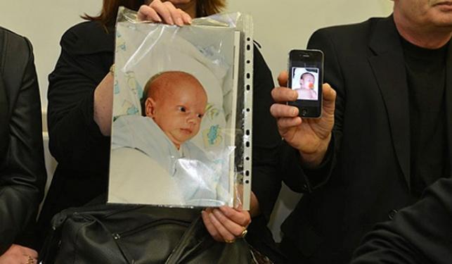 התינוק אבישי זיסר שנהרג בעקבות הרשלנות