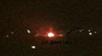 רגעי הפיצוץ לכאורה - דיווחים בסוריה: ישראל תקפה בליל שבת
