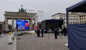 שידור חי: הדלקת הנרות בשער ברנדנבורג