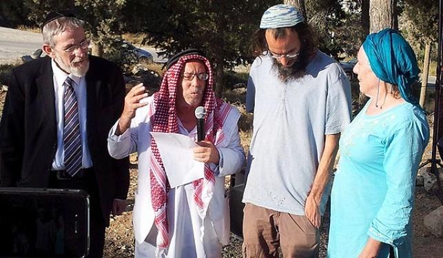 השייח והרב בתפילה למען החטופים