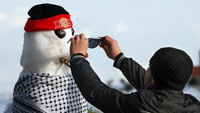 בובת שלג (צילום: פלאש 90)