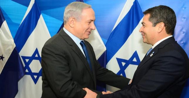 הרננדס בביקורו בישראל