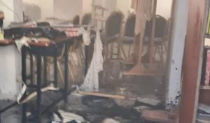 שריפה בבית כנסת בלוד; ספרי הקודש חולצו