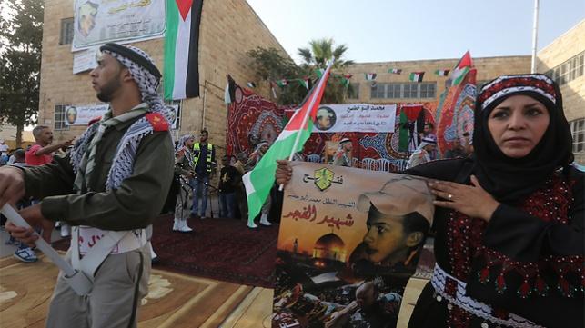 שנה לרצח בי-ם: 'רוצים אינתיפאדה'