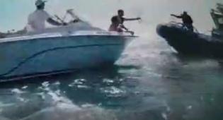החילוץ בלב ים