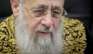"""הגר""""י יוסף - נבחנים צעדים פליליים נגד הרב יצחק יוסף"""