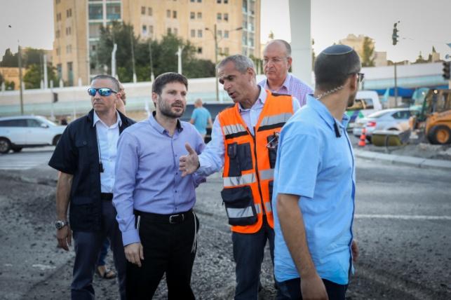 בצלאל סמוטריץ' שר התחבורה יוני 2019