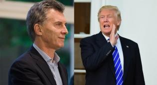 טראמפ ומאקרי