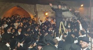 ריקוד הסולמות בהילולת דוד המלך  • צפו