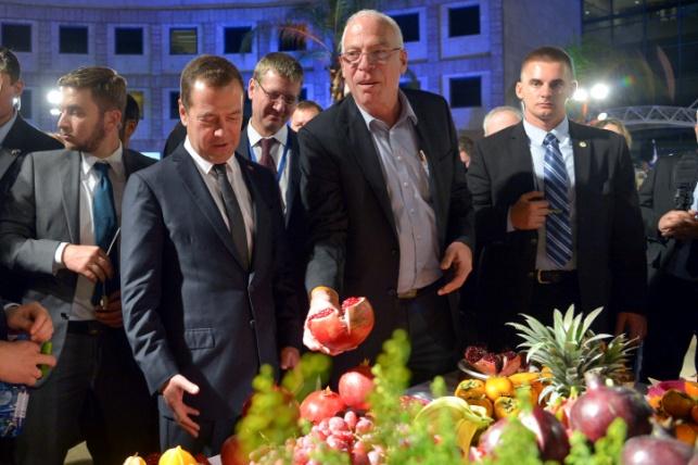 """""""רוצה במתנה גם עגבניית שרי?"""" אריאל ומדבדב"""