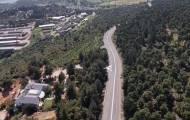 תיעוד רחפן: הכביש המוביל למירון - ריק