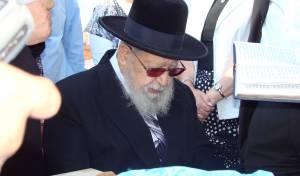 24 שנים: כשמרן עלה לקבר הרבנית מרגלית