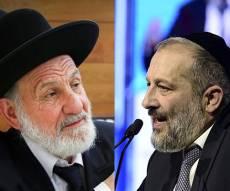 """השר דרעי והגר""""צ בוארון - נגד ש""""ס: הרב בוארון עורק לפלג הירושלמי?"""