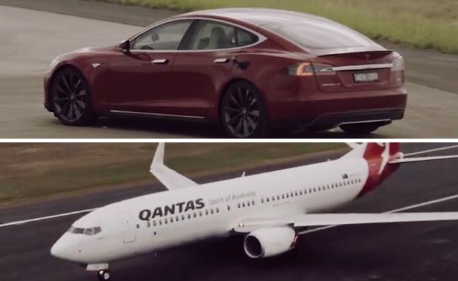 ראש בראש: מטוס סילון מול הרכב המהיר בעולם