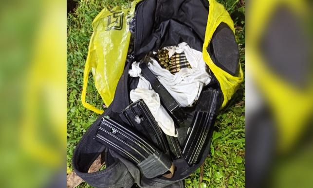 התחמושת שנתפסה אצל החשודים