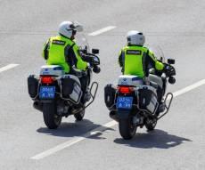 שוטרים במוסקבה. ארכיון
