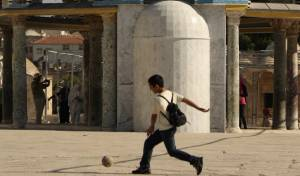 המשטרה תפעל נגד משחקי כדור בהר הבית